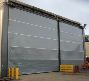 MAXDOOR HD 30x25 and 25x25. MAXDoor Rubber Door & MAXDoor Vertical Lift Fabric Door Photo GalleryMAXDoor